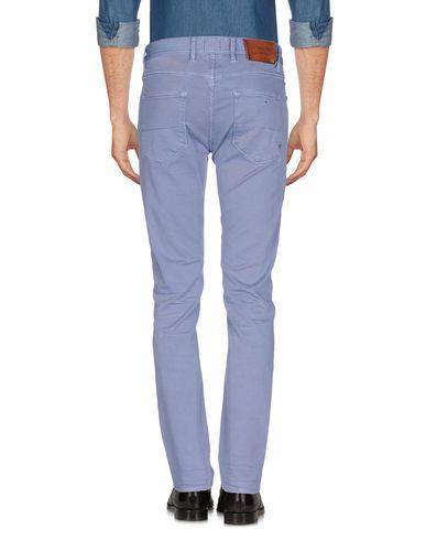 Фото 2 - Повседневные брюки от PT05 сиреневого цвета