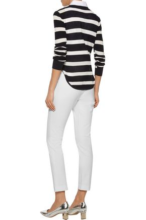MICHAEL KORS COLLECTION Stretch-twill  skinny pants