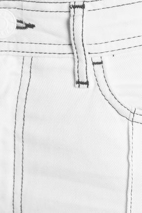 SANDRO High-rise straight-leg jeans