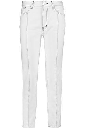 SANDRO High-rise straight-leg jeans