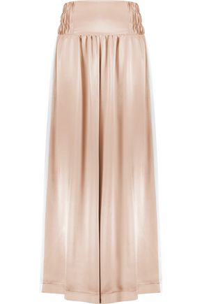 NATASHA ZINKO Satin wide-leg pants
