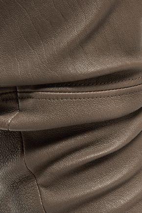 ALICE + OLIVIA Leather leggings