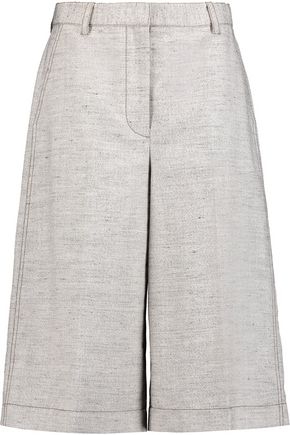 3.1 PHILLIP LIM Wool and linen-blend culottes