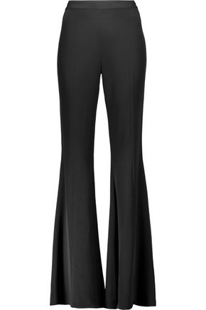 HAUTE HIPPIE Silk-blend bootcut pants