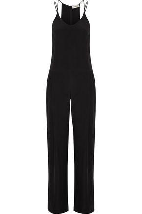 L'AGENCE Poppy brushed-silk jumpsuit