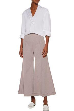 ACNE STUDIOS Olexa cotton-twill bootcut pants