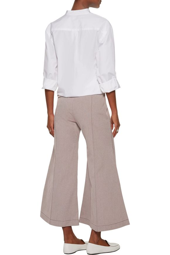 Olexa cotton-twill bootcut pants | ACNE STUDIOS | Sale up to 70% off | THE  OUTNET