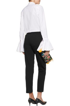ALICE + OLIVIA Logan stretch-jersey slim-leg pants