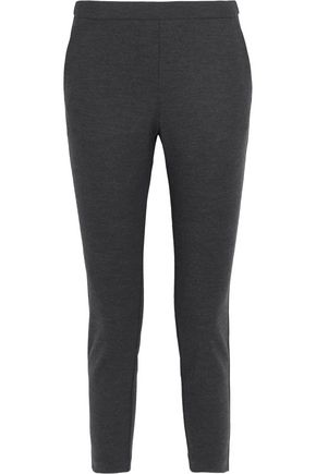 THEORY Stretch wool-blend slim-leg pants