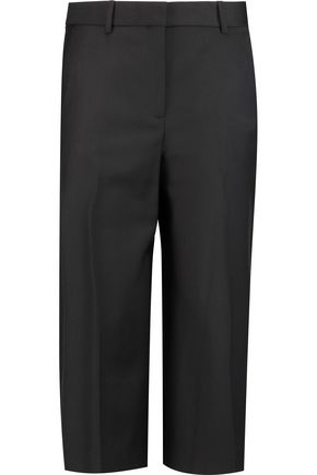 THEORY Halientra wool-blend culottes