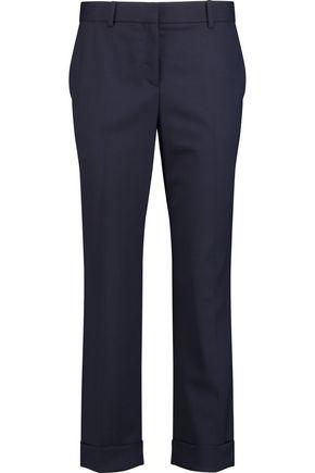 THEORY Wool straight-leg pants