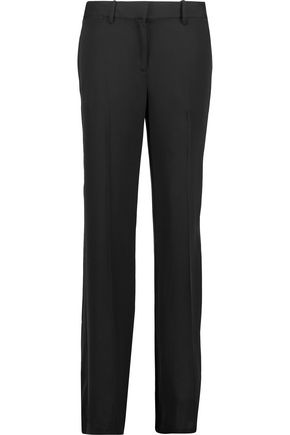 THEORY Brinfill silk crepe de chine wide-leg pants