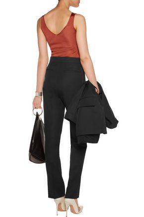 IRO Violet cady straight-leg pants