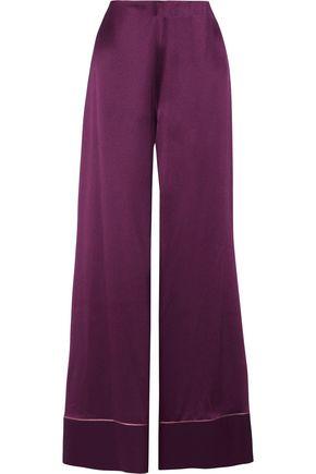 ROKSANDA Oldridge silk-satin wide-leg pants