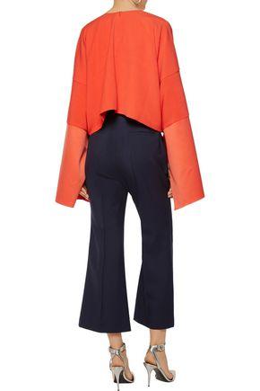 ROKSANDA Gardham wool-twill bootcut pants