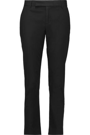 MARC BY MARC JACOBS Stretch-cotton crepe slim-leg pants