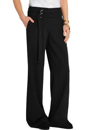 MICHAEL KORS COLLECTION Serge pleated wool wide-leg pants