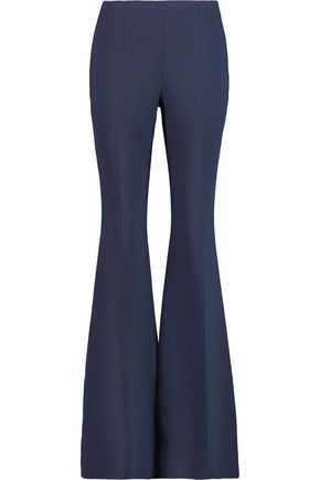 MICHAEL KORS COLLECTION Wool-crepe bootcut pants