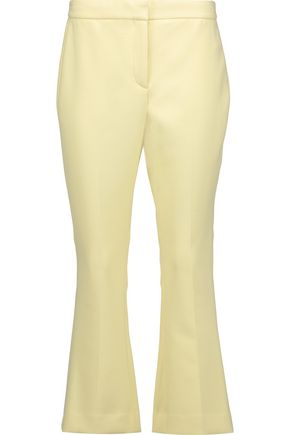 THEORY Erstina Pioneer cropped twill slim-leg pants