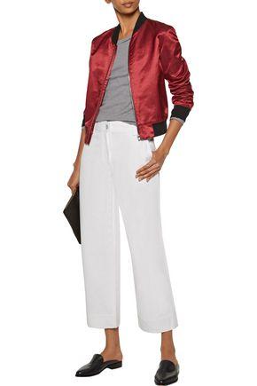 RAG & BONE Fey cropped high-rise wide-leg jeans