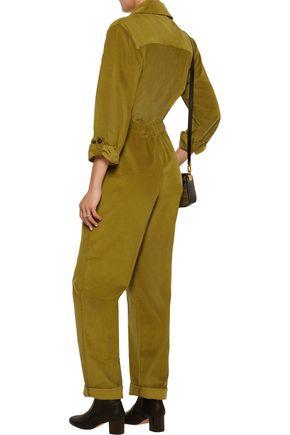VANESSA SEWARD Cotton-blend corduroy jumpsuit