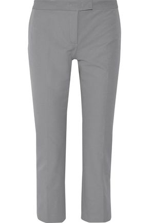 JOSEPH New Queen cropped crepe straight-leg pants