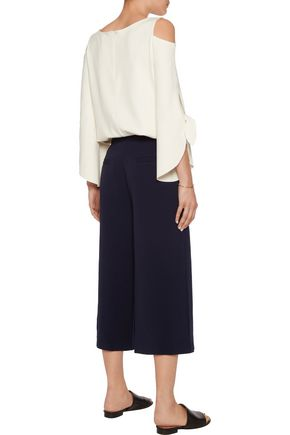 IRIS AND INK Avery crepe de chine wide-leg pants