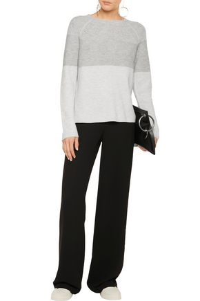 VINCE. Crepe wide-leg pants