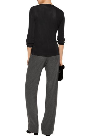 VANESSA SEWARD Boy wool-felt wide-leg pants