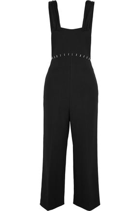 3.1 PHILLIP LIM Embellished wool-blend twill jumpsuit
