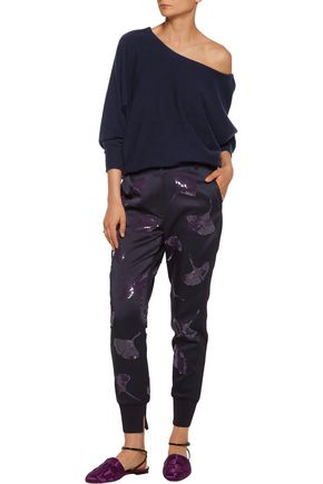 3.1 PHILLIP LIM Sequin-embellished washed-crepe tapered pants