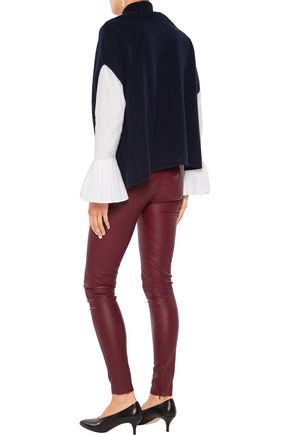 IRIS AND INK Lila stretch-leather leggings