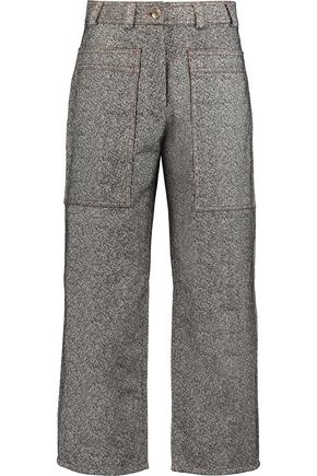ACNE STUDIOS Milford cropped denim straight-leg pants