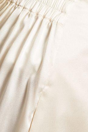 ACNE STUDIOS Odin silk-blend satin culottes
