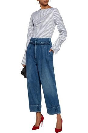J.W.ANDERSON Pleated wide-leg jeans