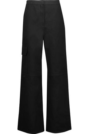 J.W.ANDERSON Cotton-blend twill wide-leg pants