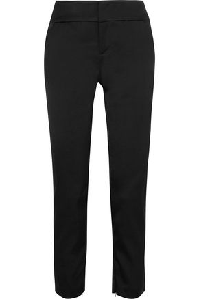 ALICE + OLIVIA Stacey stretch-crepe slim-leg pants