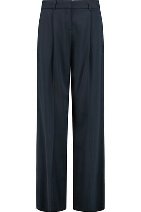 THEORY Onark twill wide-leg pants
