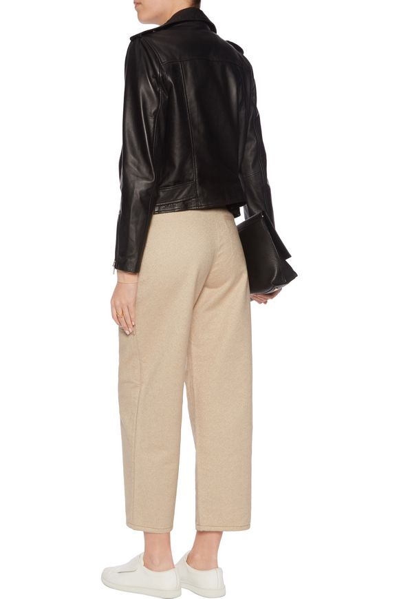 Milford felted cotton-twill wide-leg pants   ACNE STUDIOS   Sale up to 70%  off   THE OUTNET
