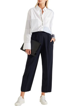 ACNE STUDIOS Milica cropped crepe straight-leg pants