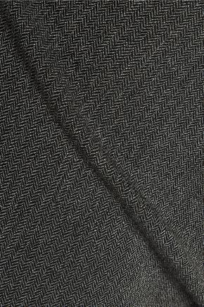 JOSEPH Tony cropped herringbone woven skinny pants