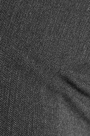 JOSEPH Herringbone woven skinny pants