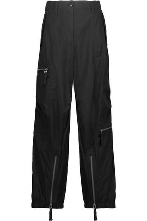 HELMUT LANG Belted cotton straight-leg pants