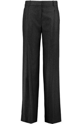 DIANE VON FURSTENBERG Stanton wool-blend wide-leg pants
