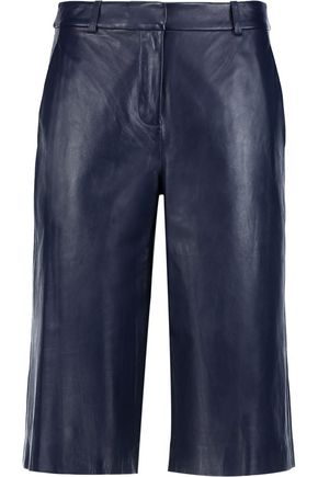 DIANE VON FURSTENBERG Asheton leather culottes