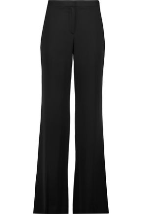 DIANE VON FURSTENBERG Silk wide-leg pants