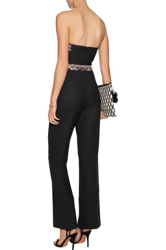Strapless embroidered crepe jumpsuit | CAMILLA | Sale up to 70% off | THE  OUTNET