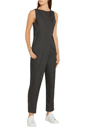 PAPER London Arko pinstriped twill jumpsuit