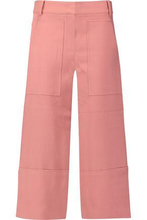 TIBI Anson stretch-cady wide-leg culottes