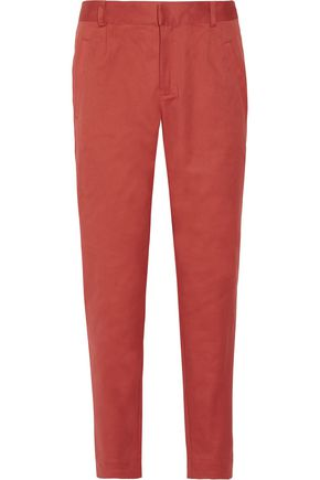 A.P.C. Cotton-blend canvas tapered pants
